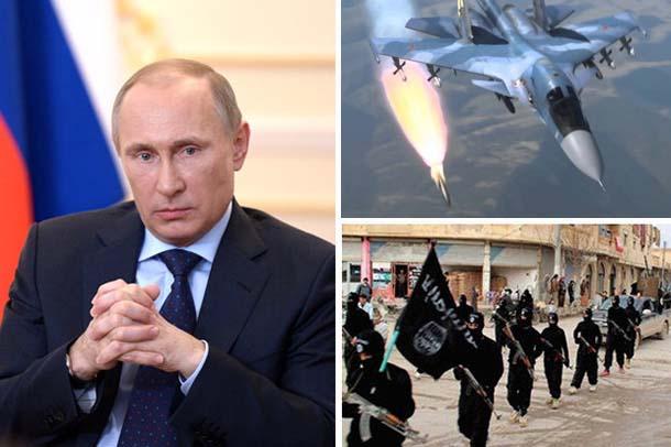 Đánh IS, Nga gây choáng ngợp về sức mạnh quân sự - 1