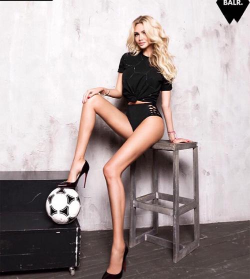 Ngây ngất với fan bóng đá sexy, xinh đẹp nhất thế giới - 1