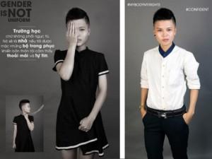 """Bạn trẻ - Cuộc sống - Bộ ảnh của những """"cô nàng"""" từ chối mặc váy, áo dài"""