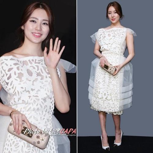 Sức hút tuyệt vời từ những chiếc váy ren trắng - 8
