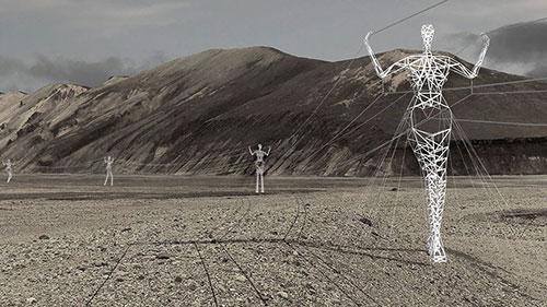 Ý tưởng táo bạo: Biến cột điện thành tượng khổng lồ - 5