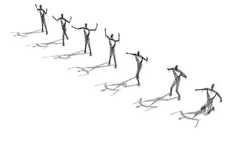 Ý tưởng táo bạo: Biến cột điện thành tượng khổng lồ - 4