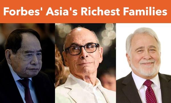 Cuộc chiến giữa 50 gia đình giàu nhất châu Á - 1