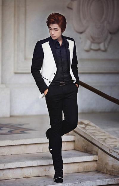 Nhà thiết kế trẻ Eric Nguyễn diện suit đẹp như trai Hàn - 5