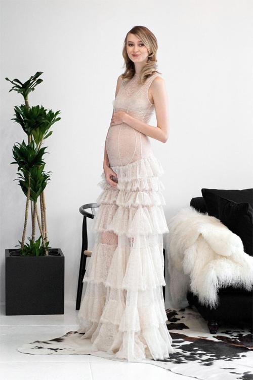 """Nín thở ngắm cô dâu mặc váy cưới """"mỏng như không"""" - 8"""