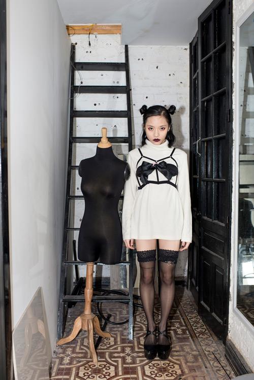 """Nữ du học sinh Việt và gu thời trang """"chẳng giống ai"""" - 12"""