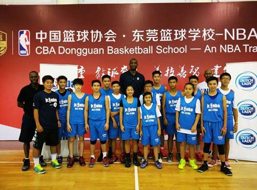 14 học sinh Việt gặp gỡ huyền thoại bóng rổ thế giới - 1