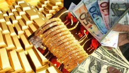 Cuối tuần vàng giảm, USD tăng - 1