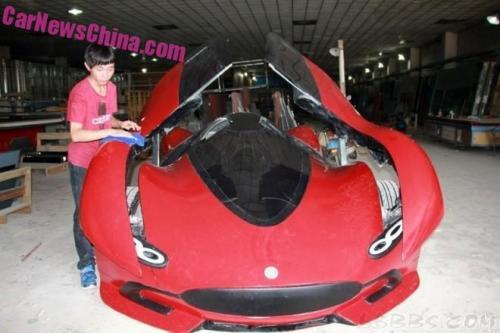 Sinh viên Trung Quốc phát triển xe ô tô điện thể thao cực ngầu - 2