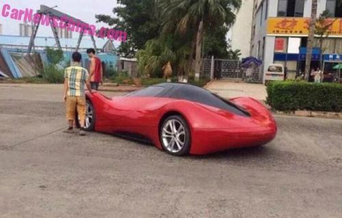 Sinh viên Trung Quốc phát triển xe ô tô điện thể thao cực ngầu - 3