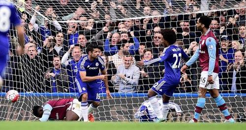"Chi tiết Chelsea – Aston Villa: ""Gà son"" Costa (KT) - 4"