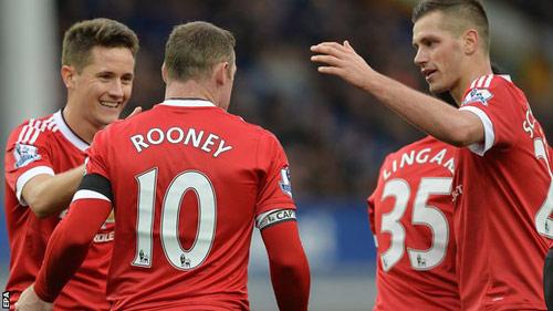 Van Gaal muốn thắng Man City dễ như Everton - 1