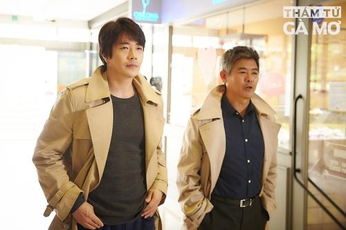 """""""Nam thần"""" xứ Hàn biến hóa ấn tượng trong """"Thám tử gà mơ"""" - 2"""