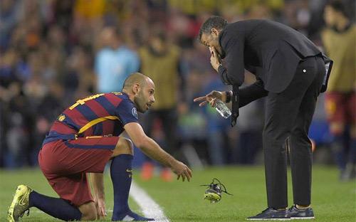 """Ghi 4 bàn, Neymar được Luis Enrique ví như """"người điện"""" - 1"""