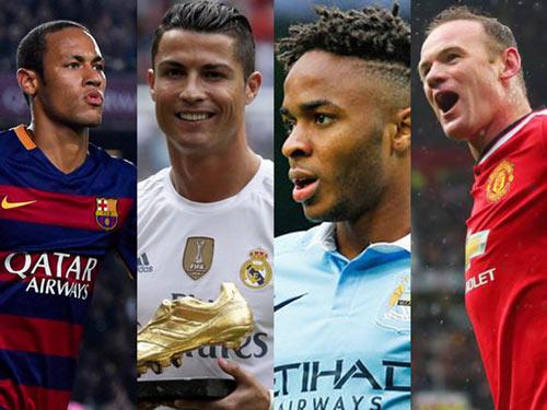 Neymar, Sterling, Ronaldo & Rooney trong đêm lịch sử - 1