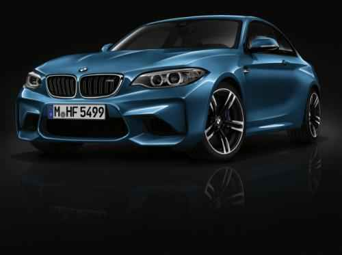 BMW M2 Coupe cuốn hút với màu xanh huyền bí - 2