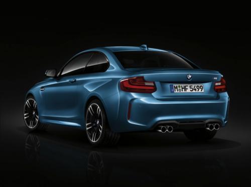 BMW M2 Coupe cuốn hút với màu xanh huyền bí - 4