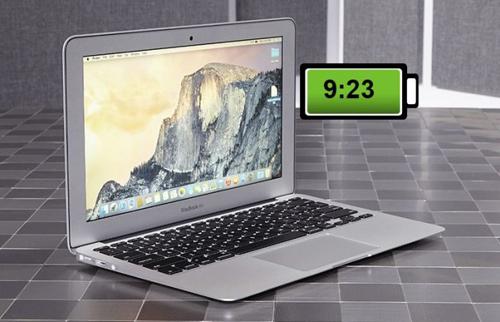 """Top 10 laptop sở hữu dung lượng pin """"khủng"""" nhất tháng 10 - 12"""