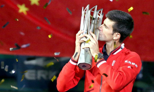Djokovic - Tsonga: Ghi dấu vào lịch sử (CK Shanghai Masters) - 2