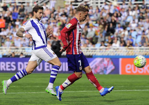 Sociedad – Atletico: Bay vào top 4 - 1