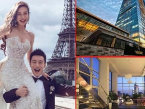 Phim - Cận cảnh 2 căn hộ trăm tỷ của vợ chồng Huỳnh Hiểu Minh