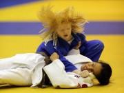 Thể thao - Cảm động với những võ sĩ khiếm thị tại Giải Judo quốc tế Việt Nam 2015