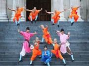 Thể thao - Tròn mắt nhìn võ tăng Thiếu Lâm tung tuyệt chiêu giữa London