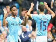 Bóng đá - Sterling lập hattrick: Thay Silva, ghi bàn như Aguero