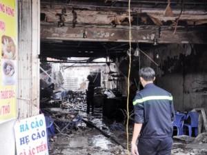 Tin tức Việt Nam - TP.HCM: Hai mẹ con chết cháy trong quán hủ tiếu