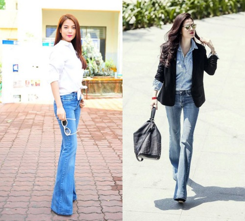Các cô gái, hãy tạm biệt quần jeans ống côn! - 12