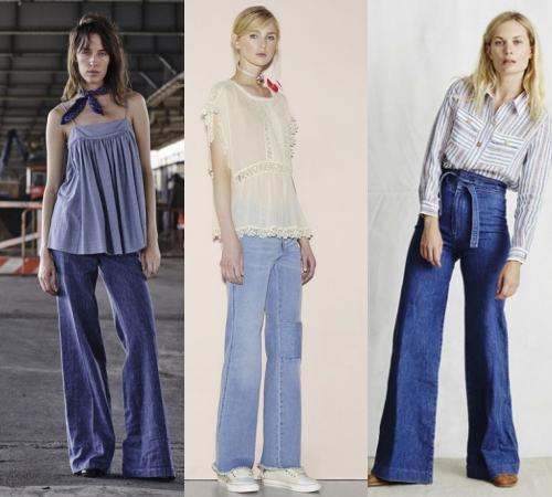 Các cô gái, hãy tạm biệt quần jeans ống côn! - 4
