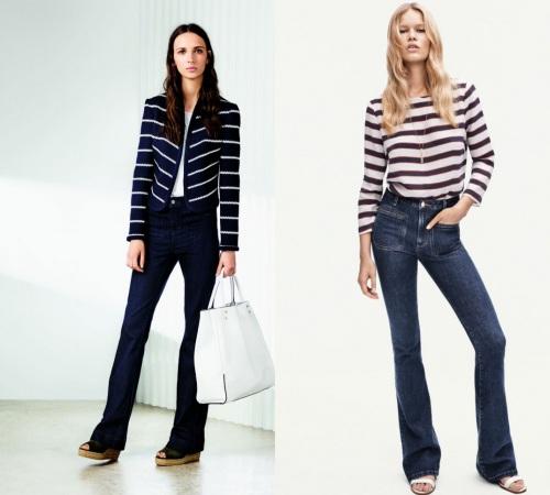 Các cô gái, hãy tạm biệt quần jeans ống côn! - 5