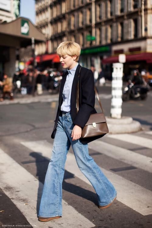 Các cô gái, hãy tạm biệt quần jeans ống côn! - 14