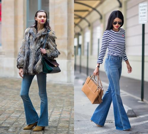 Các cô gái, hãy tạm biệt quần jeans ống côn! - 15