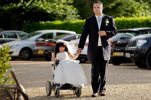 Đám cưới trong mơ của cô dâu nhỏ nhất thế giới - 2