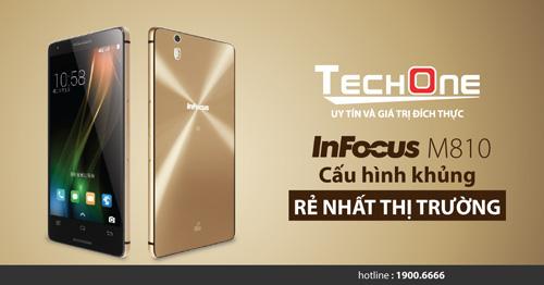 Cơn sốt smartphone Mỹ InFocus M810T giá hơn 3 triệu đồng - 5