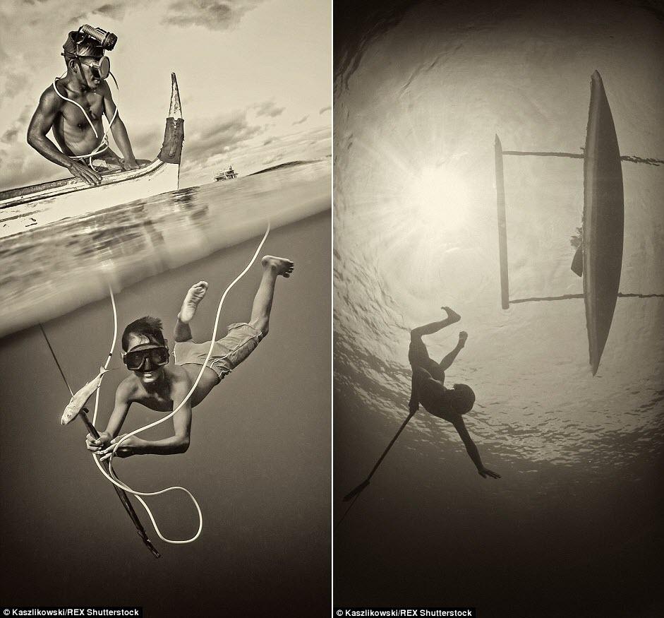 Chùm ảnh: Cuộc sống của bộ tộc du cư trên biển - 3