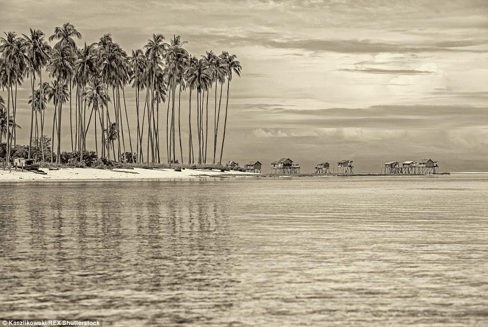 Chùm ảnh: Cuộc sống của bộ tộc du cư trên biển - 7