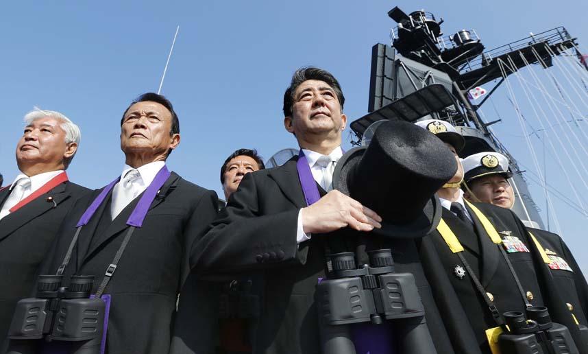 """Nhật bất ngờ """"khoe"""" sức mạnh dàn tàu chiến hoành tráng - 5"""