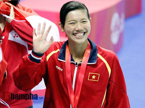 Vẻ đẹp Ánh Viên, vẻ đẹp phụ nữ Việt Nam - 1