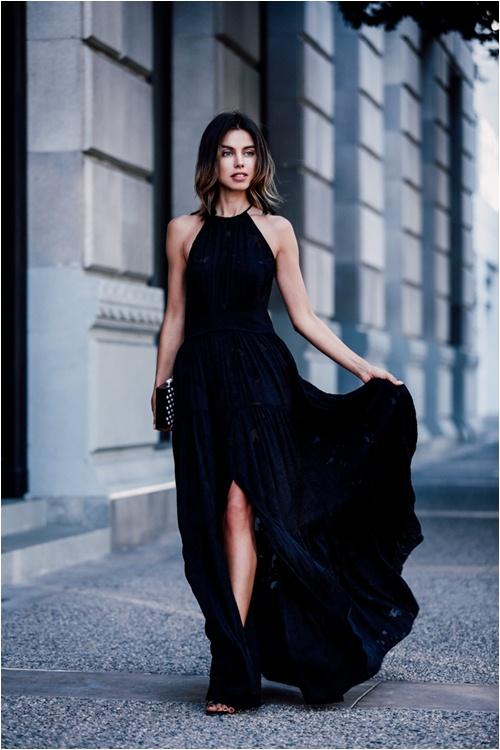 Cả tuần mặc đồ đen đẹp như tín đồ nổi tiếng sành điệu - 9