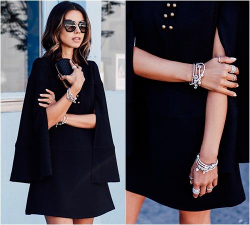 Cả tuần mặc đồ đen đẹp như tín đồ nổi tiếng sành điệu - 10
