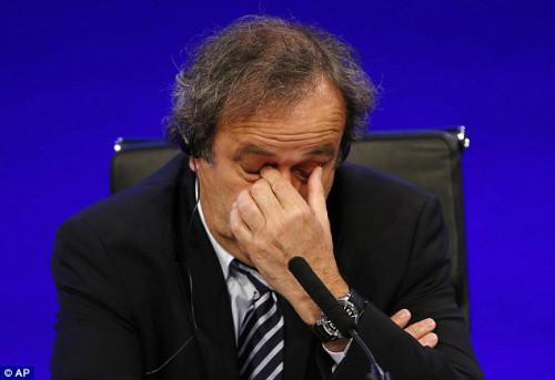 """Scandal hối lộ FIFA: Platini tố Blatter """"gài bẫy"""" - 1"""