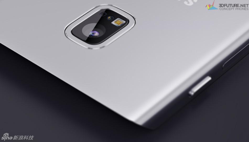 Thiết kế độc và lạ của mẫu Samsung Galaxy S7 Edge - 4