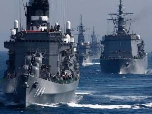 """Thế giới - Nhật bất ngờ """"khoe"""" sức mạnh dàn tàu chiến hoành tráng"""