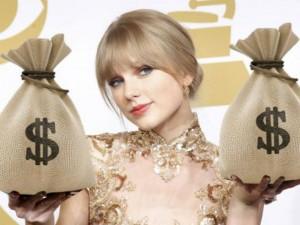Taylor Swift kiếm 7 nghìn tỉ đồng năm 2015