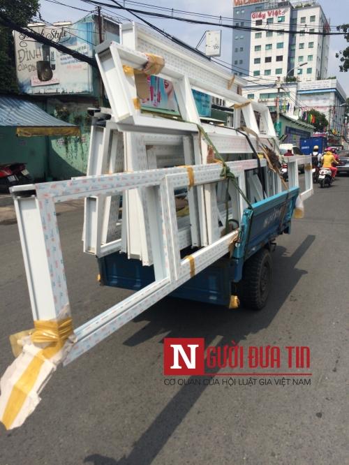 """Cận cảnh xe """"ma"""" sắp bị xử lý nghiêm ở Sài Gòn - 5"""