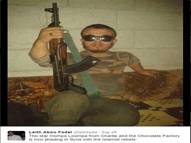 Phiến quân khủng bố cao... 90cm - 2