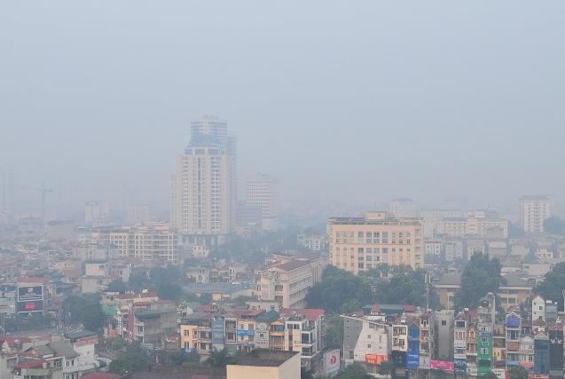 Ảnh: Hà Nội ẩn hiện trong sương mù mùa thu - 12