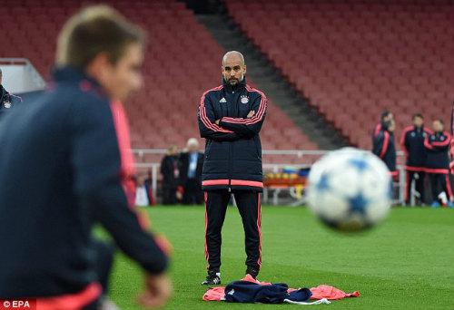 """Bayern làm khách của Arsenal: Pep """"cẩn tắc vô áy náy"""" - 1"""